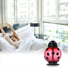 Wholesale ion air purifiers - LED Air Diffuser Humidifier Aroma Purifier Atomizer For bedroom Homekeeping USB Mist Maker