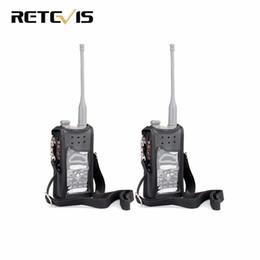 Wholesale Digital Walkie Talkies - 2pcs Black Radio Holster Accessories for Retevis RT82 Digital Walkie Talkie Amateur Radio J9127H