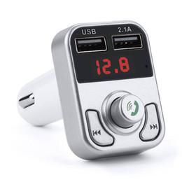 Lecteur MP3 Bluetooth pour voiture Kit mains libres mains libres Bluetooth Transmetteur FM LCD Lecteur MP3 Chargeur USB Adaptateur autoradio ? partir de fabricateur