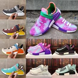 Wholesale highest human - 2018 Human Race Running Shoes Men Women Boost Cheap Human Race New High Quality Free Shipping Size 5-12.5