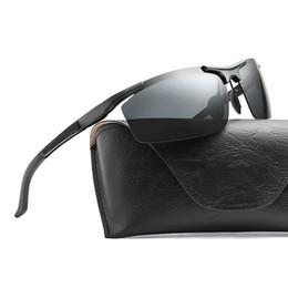 Herren-brillen Aluminium Magnesium Legierung Männer Sonnenbrille Polarisierte Objektiv Fahrer Spiegel Sonnenbrille Männlichen Eyewears Oculos De Sol Masculino Re7755 Sonnenbrillen