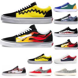 e17ec63e3 vans off the wall white Calzados originales fuera de la pared vansold skool  Zapatos casuales para hombres zapatillas de skate zapatillas de deporte de  ...