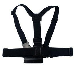 Argentina SHOOT GP26 Gopro Accessories Arnés Ajustable Elastic Gopro Belt Body Chest Strap Mount para Go pro Hero 5 4 3+ SJCAM SJ6 SJ7 Suministro