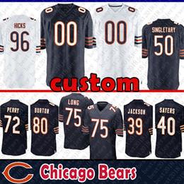 Deutschland 23 Kyle Fuller Custom Trikot Chicago Bears 72 William Perry 68 James Daniel 80 Trey Burton 89 Ditka 96 Akiem Hicks Singletary Sayers Jackson supplier bears jerseys Versorgung