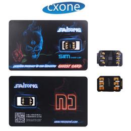 Son Sürüm ve Orijinal Ghost Kilidini SIM kart 4G LTE iphone 7 8 X XS MAX ile ücretsiz DHL cheap sim card for unlocked iphone nereden unlocked iphone için sim kartı tedarikçiler