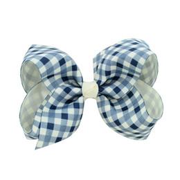 2018 più nuovo stile britannico bowknot forcine ragazza barrettes ragazzo colorato arco clip di capelli jojo archi accessori per capelli 4 pollici da capelli barrette fatti a mano fornitori