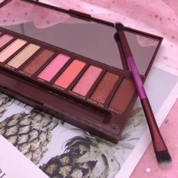 Marke make-up fabrik online-Fabrik direktes DHL-freies Verschiffen-neues Make-up mustert heiße Marken-Nude Kirschenaugen-Schatten-Palette 12 Farben-Lidschatten!