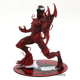 Wholesale painted statue - figure model The Amazing Spider-Man Venom Carnage ARTFX + STATUE 1 10 Scale Pre-Painted Figure Model Kit 17cm
