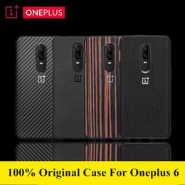 oneplus zubehör Rabatt 100% offizielle Sandstein-Silikon-Rückseite für Oneplus 6-Hülle oneplus6-Handyhüllen und -Hüllen mit Originalzubehör