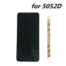 жк-дисплеи для сотовых телефонов Скидка новый 5.5 дюймов для Alcatel 3 5052D 5052Y 5052 ЖК-дисплей Ассамблеи + сенсорный экран замена панели для Alcatel 3 5052D сотовый телефон