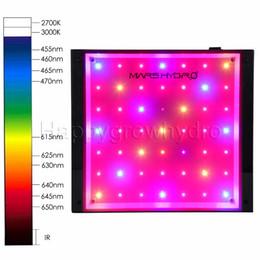 Wholesale 49 Led - Mars ECO 49 LED Grow Light Lamp Hydroponics Indoor Garden Plants Full Spectrum