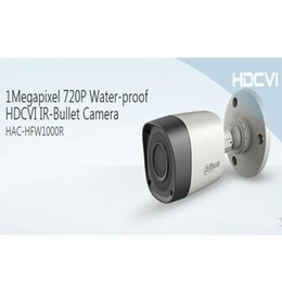 Wholesale Cctv Dahua - Free Shipping DAHUA CCTV Security Camera Outdoor Camera 1MP 720P IR Waterproof HDCVI Bullet Camera Without Logo HAC-HFW1000R