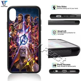 Wholesale Iphone 5s Apple Case New - New Avengers Infinity War Movie Superheros Thanos Phone Case Cover For iX i8 i7 6 6s Plus 5s SE Cell Phone Case Cover Free Gift