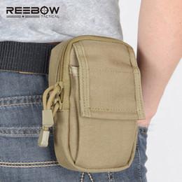 2019 petit sac tactique REEBOW Tactical Mini Course à la Taille EDC Pack Molle 1000D nylon Sacs Accessoires Petit Téléphone Portable petit sac tactique pas cher