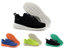 Scarpe da corsa multi colored online-13 Colori New Nike roshe run rosherun rosherun London Olympic Scarpe da corsa per uomo Donna Sport London Olympic Shoes Donna MenTrainers Sneakers misura 36-45