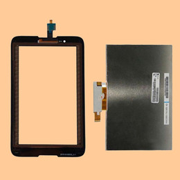 Wholesale Lenovo Lcd Monitors - For Lenovo A7-30 A3300 A3300T Black Touch Screen Sensor Digitizer Glass + LCD Display Screen Panel Monitor