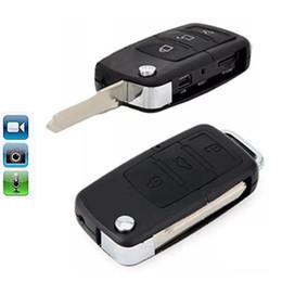 Gravador de video chaveiro on-line-Mini Car Chaveiro Câmera de Segurança DVR Gravador de Vídeo Cam Mini Carro KeyChain Câmera de Segurança DVR Vídeo