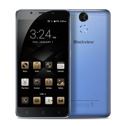 "Wholesale 13mp Camera Mobiles - Blackview P2 smartphone 5.5"" FHD 4GB RAM 64GB ROM Android 6.0 MT6750T Octa Core 13MP fingerprint 6000mah 4G LTE Mobile Phone"