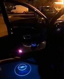4pcs / lot porte de voiture LED lumière bienvenue lumière projecteur ombre fantôme pour Opel Insignia modèle de voiture ? partir de fabricateur