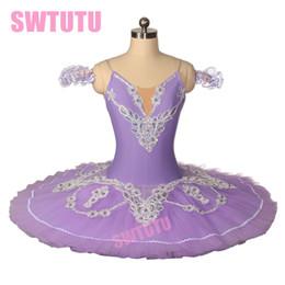 Tutus de ballet classique en Ligne-Ballet Adulte Lilas Tutu BT8931D Coppelia Professional Ballet Classique Tutu Costumes Pour Casse-Noisette Performance Tutu