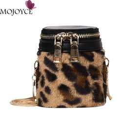 8aff22516e81 Women Chain Sling Crossbody Bag Girls Female Leopard Casual Messenger Bag  Girls Mini Shoulder Box Bags Bolsa Feminina 2018 New