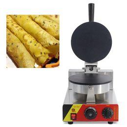 Rollos de huevo antiadherentes comerciales en forma de máquina para hacer gofres tipo de oblea rollos máquina de panadero que hace el molde de la placa desde fabricantes