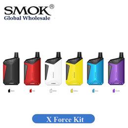 vaporizador cloutank m3 kit Rebajas Kit SMART X Force Starter auténtico Stardard Edition 7ml 2000mAh Pod Vape portátil Sistema 100% original Smoktech