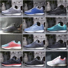 Wholesale womens snow - New Boost Wmns Zoom Pegasus 12 Colors For Pick Breathable Cushion Indoor and Outdoor Mens Womens Sports Running Shoes