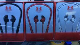 Wholesale Wireless Headphones For Running - UA Wireless Sports Headphones 2018 Hot Sell UA Earbuds Stereo Earphone Fashion Running Bluetooth Earphones For Samgung S6 S8 IphoneX
