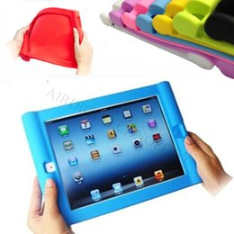 Wholesale Silicon Grip - iPad AIR 2 & iPad 2 3 4 & iPad Mini Kids Shockproof Rubber Silicone Case Cover - Easy Grip for Small Hands (Hot in USA SE SP NL FR UK RU)