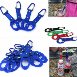 Wholesale Travel Water Bottle Holder - Outdoors Water Bottle Buckle Cup Hook Holder Clip Bottle Hanger Aluminum Carabiner travel Tool Camping Hiking Household Sundries AAA459