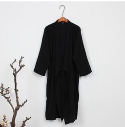 a9104d50a0f8 2018 summer traditional japanese kimonos men s japan cotton yukata men s  lounge home clothing suits sleepwear pajamas