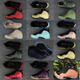 Wholesale pro ups - Cheap Penny Hardaway Basketball Shoes Sneaker Mens Man Grey 1 One Pro Mike Rust Island Copper Tech Fleece Concord Phoenix Classic Foam Shoe