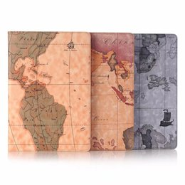 Wholesale folding maps - PU Leather Coque Map Smart Tablet for Huawei Mediapad M5 10.8 inch CMR-AL09 CMR-W09 Case Cover with Card Holder Protective+pen