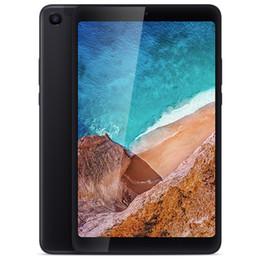 2019 tabletas baratas al por mayor Xiaomi Mi Pad 4 Tablet PC 8.0 pulgadas MIUI 9 Qualcomm Snapdragon 660 Octa Core 4GB RAM 64GB ROM eMMC 5.0MP + 13.0MP Dual WiFi