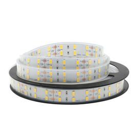 Wholesale Double White Led Strip - Ultra 5m 600 SMD 5630 LED Strip Double Row 12V Flexible 120 led m LED Tape Light White Warm White
