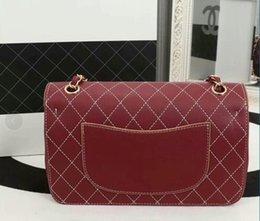 Wholesale Celebrity Bags Genuine Leather - Women Bags 25CM Fashion Cross Body Bags 2018 Spring Super Top Quality Celebrity Style Shoulder Bag Retro Handbags Purse Bag