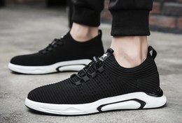 Wholesale Trend Casual Black Shoes - 2018 new hot spring men's fashion casual shoes trend retro running men's shoes wholesale