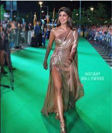 Wholesale Kim Kardashian Pictures Long Mermaid Dress - Evening dress Yousef aljasmi Long sleeve One-Shoulder Mermaid Pleats Long dress Major beading kim kardashian