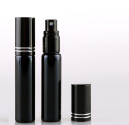 Recarga atomizador de perfume on-line-10 ML Recarga Garrafa Mini Portátil Perfume Atomizador Spray Garrafas Garrafas Vazias Recipientes Cosméticos Preto Cor Prata Ouro SN614