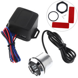 Wholesale push start ignition cars - 12V Automotive Engine Start Push Botton Ignition Switch for All Car CEC_627