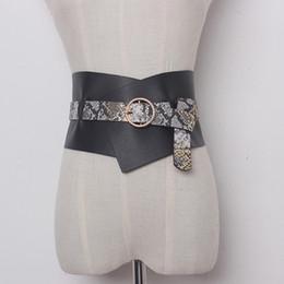 breite taille korsett gürtel Rabatt Neuestes Art- und Weisefrauen breite Gurte Metallwölbungs-Taillen-Gurt breiter Korsett-Gurt-Bundkleid-Zusätze