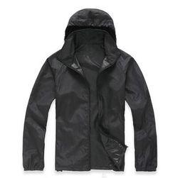 Venta caliente del verano para mujer chaquetas para mujer Ultra-delgada sudaderas con capucha sudaderas de secado rápido ropa cazadora Chaquetas XS-3XL desde fabricantes