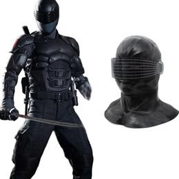 Hanzi_masks HEISS !! Neue Schlangenaugenmaske Cosplay G.I. Joe: Der Aufstieg der Kobra Maske Halloween Latexmaske Voller Kopf Helm Kostüm Requisiten Für Party von Fabrikanten