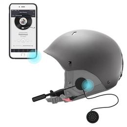 шлемофон наушников bluetooth Скидка Автомобильная беспроводная шлемофонная гарнитура Bluetooth для мотоциклетного шлема Наушники для наушников Громкая связь для MP3 MP4 Смартфон
