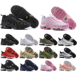 Wholesale Media Plus - Top Cheap TN Air Mens Running Shoes Air Plus TN Ultra Sports TN Requin Sneakers Running shoes 36-46