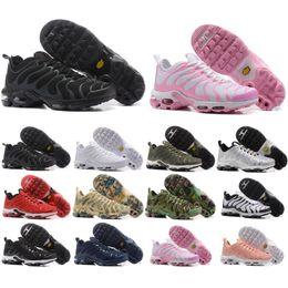 Wholesale Black Light Cheap - Top Cheap TN Air Mens Running Shoes Air Plus TN Ultra Sports TN Requin Sneakers Running shoes 36-46