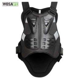 WOSAWE Body Protector armadura Chaquetas de moto Motocross chaleco sin espalda Chaleco de espina Chalecos protectores Chaqueta para hombre desde fabricantes