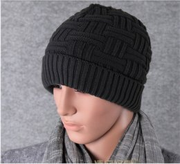 Autumn Winter Warm Hat Man Outdoors Woolen Hats New Knitting Head Cap Wild  Resist Wind Beanie 8 8pb gg 8e3a37b385ea