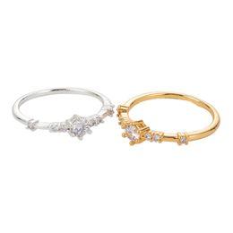 Тонкая полоса онлайн-Women Fashion Zinc Alloy Gold Silver Color Ring Eternity Crystal Jewelry Thin Cubic Zircon Band Wedding Rings Jewelry Size 6-10